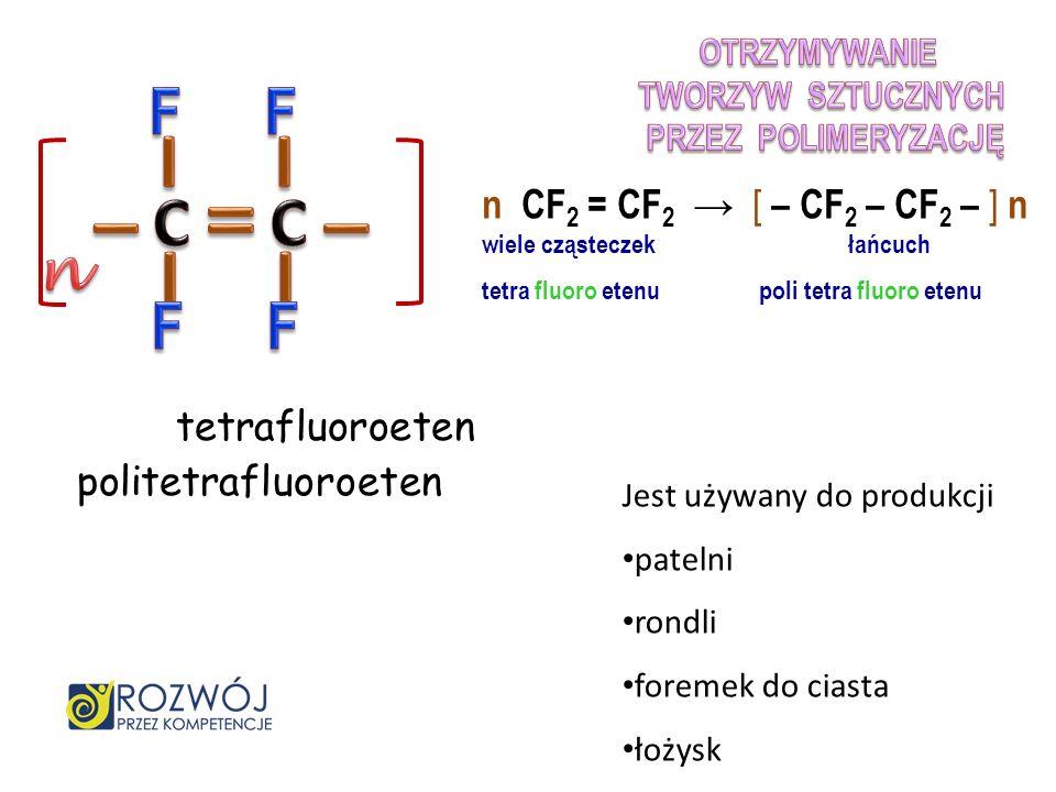 – – – – I I I I C C F F F F n n CF2 = CF2 → [ – CF2 – CF2 – ] n